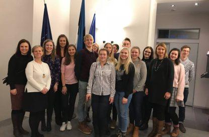 Heade Eeskujude külastus Eesti saatkonda Helsingis